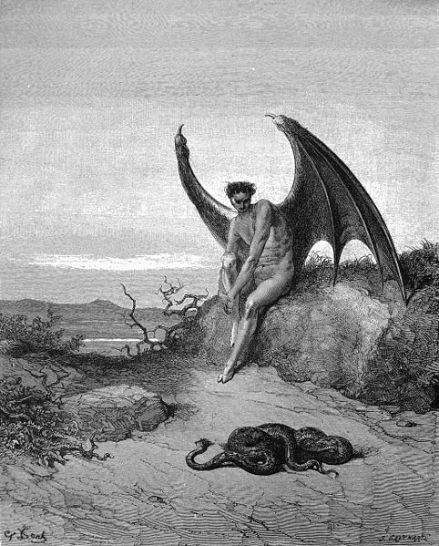 Lucifer. Sursa Wikipedia.