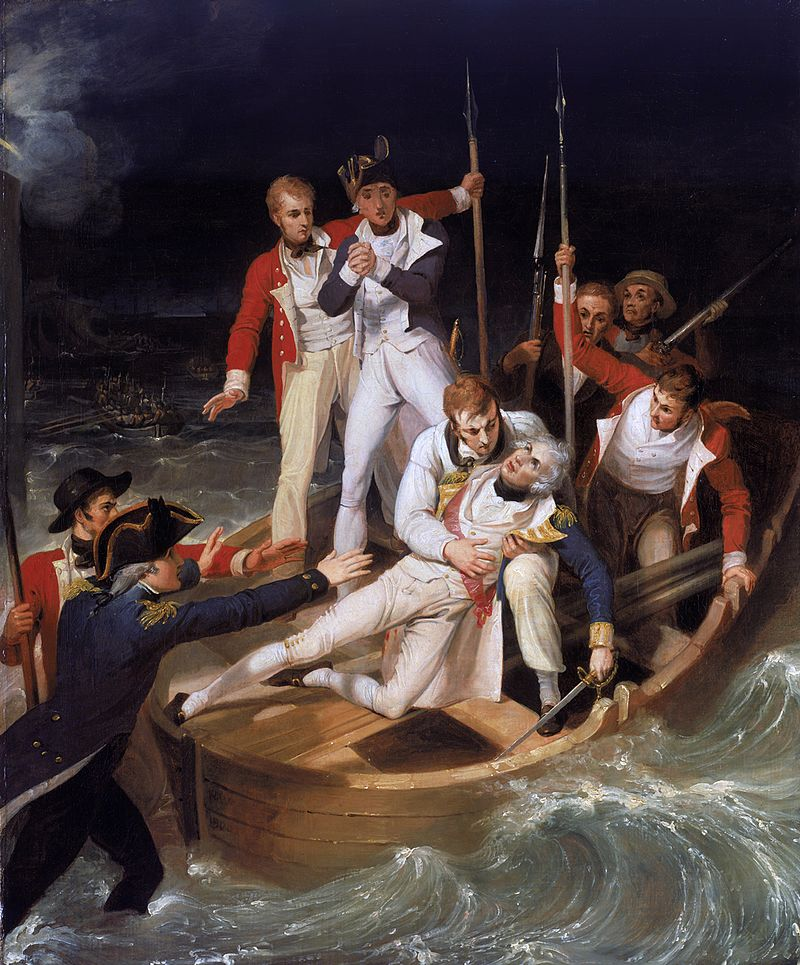National Maritime Museum, Greenwich, London, Greenwich Hospital Collection. Pictura de Richard Westall, sursa Wikipedia.