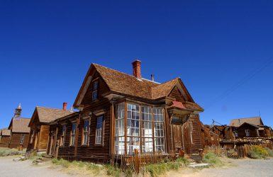 Bodie, cel mai faimos oraş fantomă din California