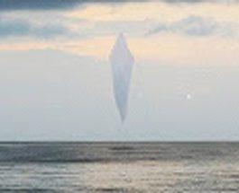 OZN ciudat în Marea Nordului