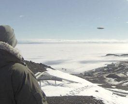 OZN-uri în Antarctica