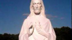 Statuia lui Iisus din Cleveland închide şi-şi deschide ochii