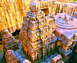 Templul enigmatic Kailasa de la Ellora