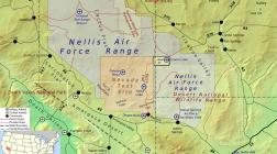 O dronă a încercat să filmeze Zona 51