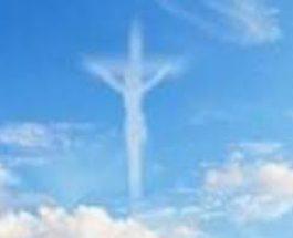 Apariţia siluetei lui Iisus Christos pe cerul Rusiei