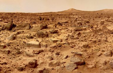 Marte era acoperit de un ocean bogat în fier?