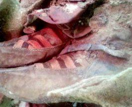 În Mongolia a fost descoperită o mumie de 1.500 de ani purtând cizme gen Adidas