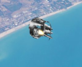 OZN filmat în iulie 2016 deasupra Mării Mediterane