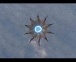 A fost filmat un OZN straniu folosind energie albastră