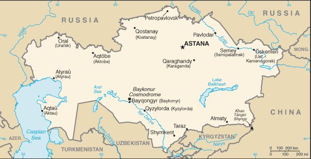 Omul zburător din Kazakhstan